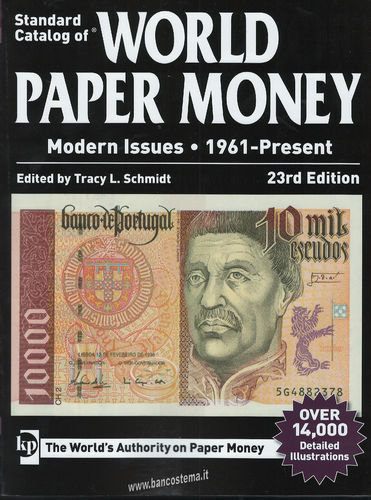 Catalogo World Paper Money Modern Issues 1961-present 23th edition