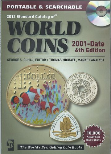 World Coins 2001-date 6th Edition Cd