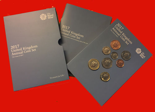 United Kingdom annual coin set 2017 BU