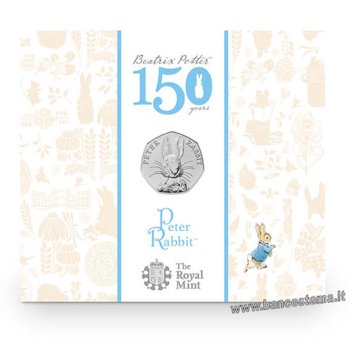 Great Britain 50 Pens 2016 - Beatrix Potter:Peter Rabbit BU