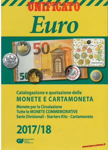Catalogo Euro Monete e Cartamoneta 2017/2018 Unificato