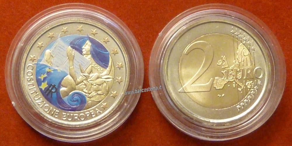 49e9959e50 Italia 2 euro 2005 commemorativo