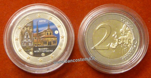 Germania 2 euro commemorativo 2013 FDC COLOR