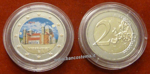 Germania 2 euro commemorativo 2014 FDC COLOR