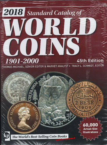 Catalogo World Coins 1901-2000 45 th edition 2018