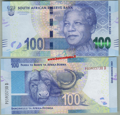 South Africa 100 Rand (2018) unc