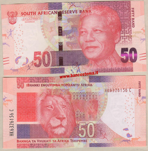 South Africa 50 Rand (2018) unc