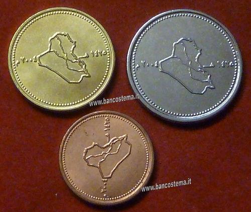 Asia coin km175 Iraq 25 Dinars 2004 UNC.