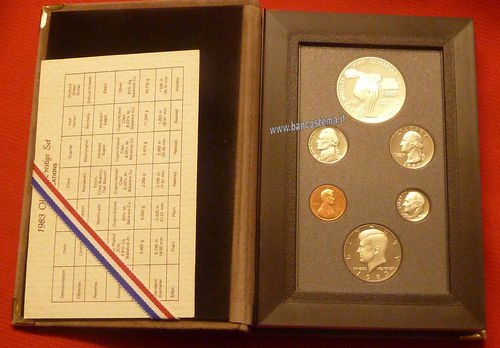 Usa serie Olympic Prestige set Proof 1983