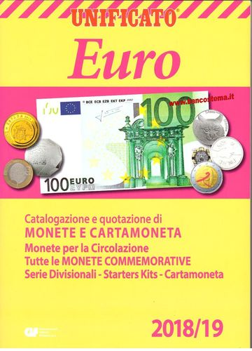 Catalogo Euro Monete e Cartamoneta 2018/2019 Unificato
