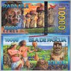 Easter Island - Isola di Pasqua 10.000 Rongo 01.10.2013 polymer unc