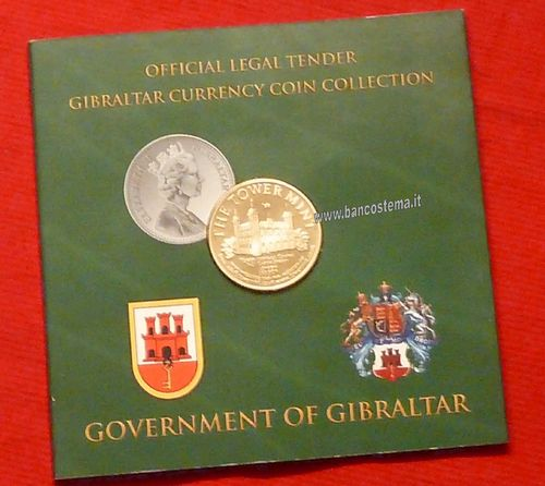 Gibraltar mint set 2005 unc