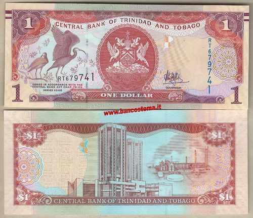 Trinidad and Tobago 1 Dollar nd 2018 unc