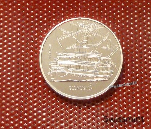 Svizzera 20 Francs 2019 commemorativa Swiss Steamboat Bluemlisalp fdc