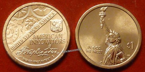 Usa 1 Dollar American innovation 1 pz 2018 unc