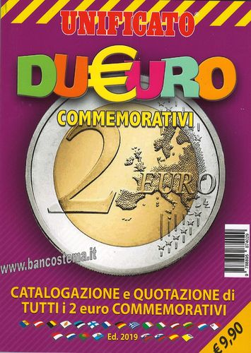 Catalogo 2 euro commemorativi - Unificato_2019