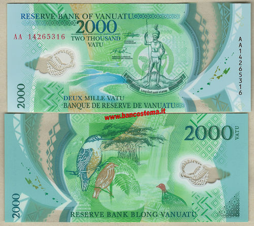2017 Pacific Mini Games Commemorative //Polymer//pNew UNC Vanuatu 500 Vatu