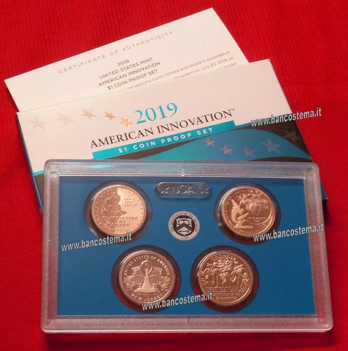 Usa States mint American Innovation Proof 2019 set