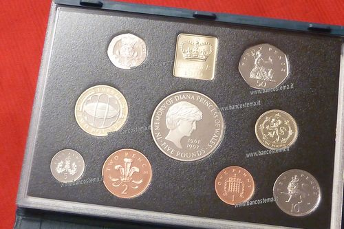 United Kingdom serie 1999 Proof