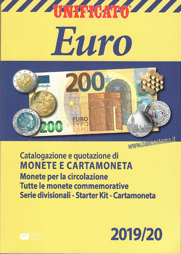 Catalogo Euro Monete e Cartamoneta 2019/2020 Unificato