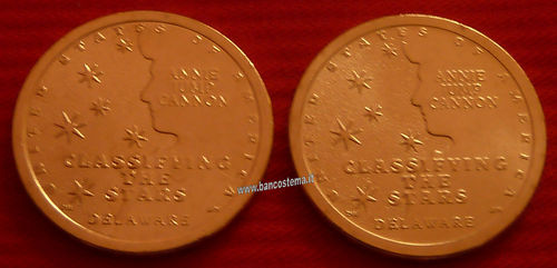 Usa 1 Dollar American innovation Delaware 2° D+P 2 pz 2019 unc