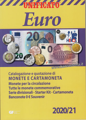 Catalogo Euro Monete e Cartamoneta 2020/2021 Unificato