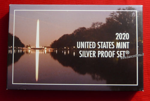 Usa States mint silver Proof 2020 set