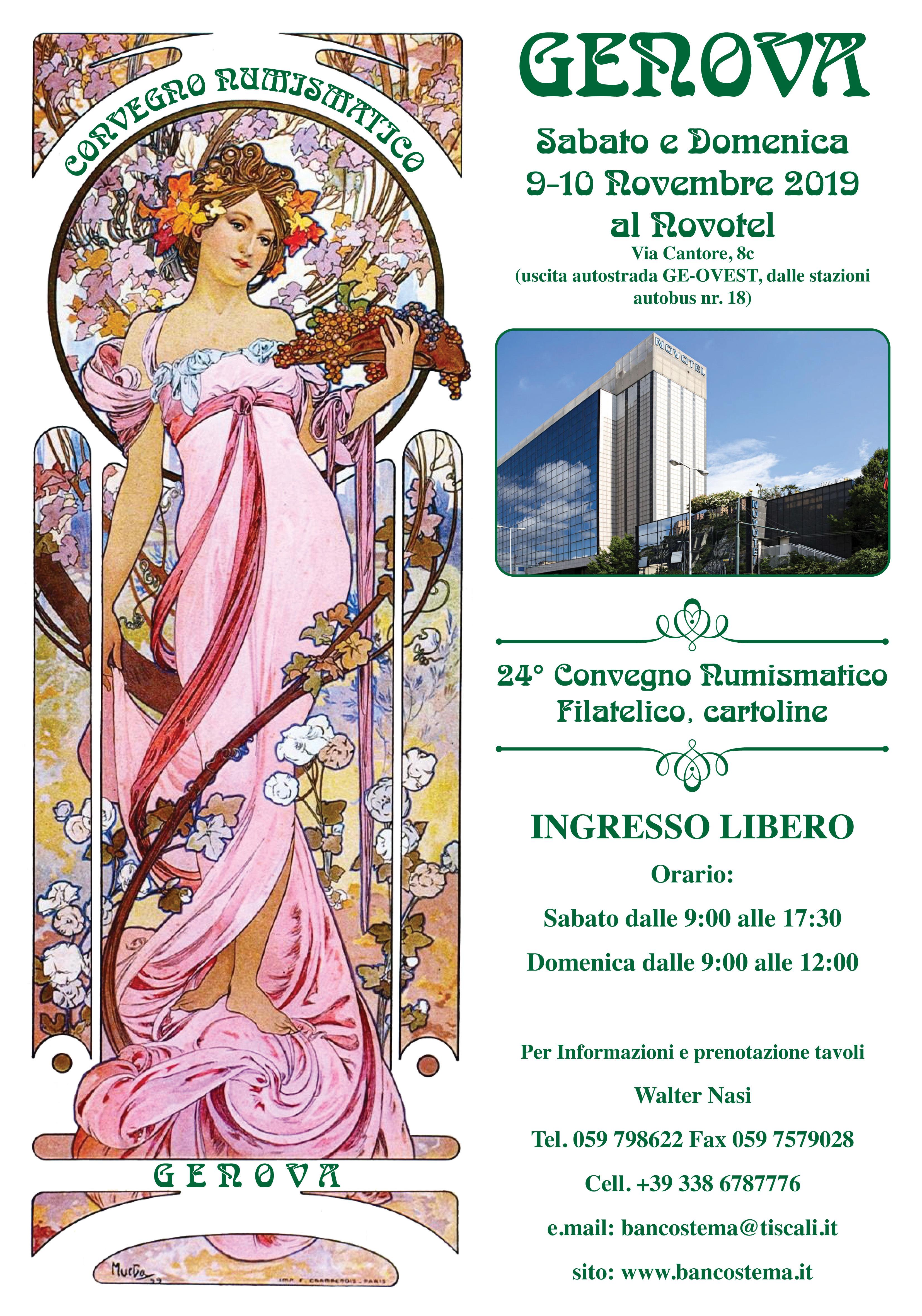 Convegno_Numismatico_Genova_Novotel_09_e_10_Novembre_2019
